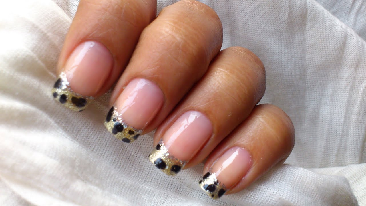 French tip nail art designs how to do youtube prinsesfo Gallery