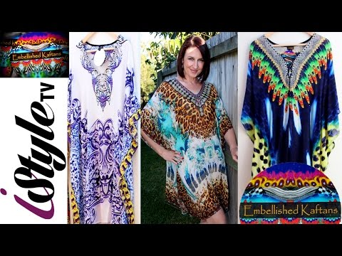 ISTYLE TV HAS FOUND THE NEW CAMILLA, WE BRING YOU EMBELLISHED KAFTANS, DESIGNER WEAR