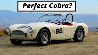homepage tile video photo for The Perfect Shelby Cobra Has A Narrow Body, Wire Wheels, and Less Power - One Take