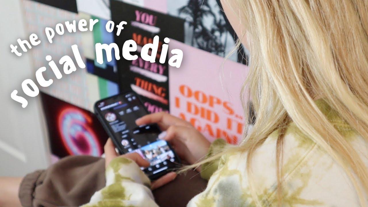 the power of social media | Pressley Hosbach