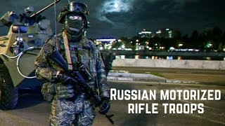 Мотострелковые войска ВС России • Russian Motorized rifle troops