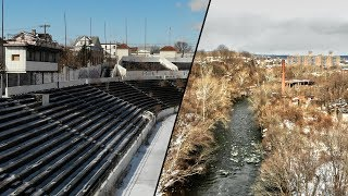 Paterson Urban Exploration - Abandoned Stadium and Factory