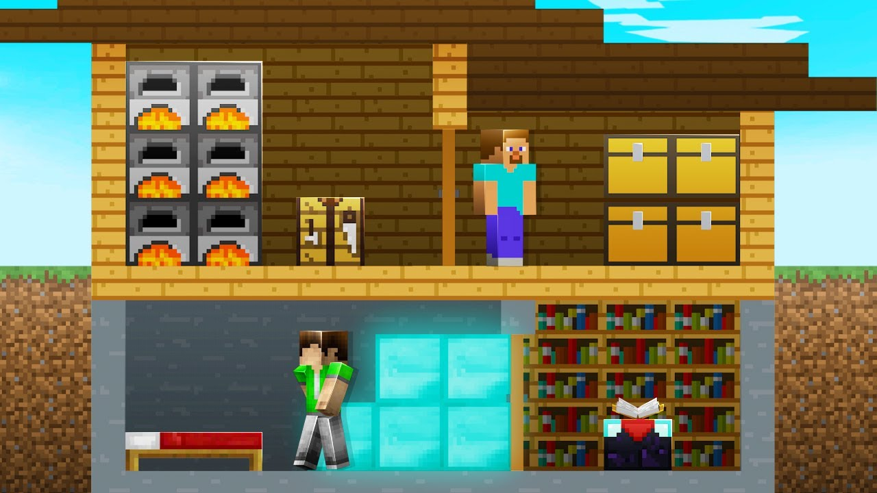 Download I Survived Under _MinecraftPr0s_ House for 14 Days & This Is What Happened