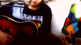 When I Get Home ~ The Beatles ((°J°)) ~ Acoustic Cover w/ Framus Texan