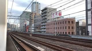 【185系】臨時快速 足利大藤まつり3号大船行 上野〜東京間側面展望