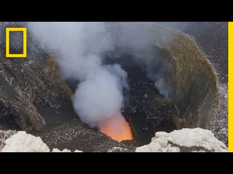Into Nicaragua's Masaya Volcano | Explorer