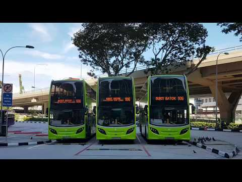 (Tower Transit Singapore) Explore our landmarks on Service 106!