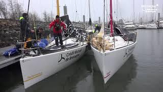 1ère nav en duo - entraînement transat AG2R