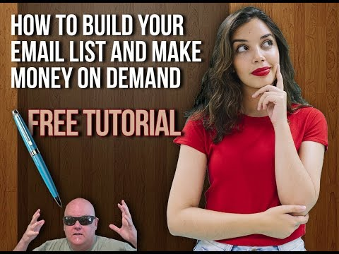 How To Build Your Email List FREE & Make Money On Demand Pt 1
