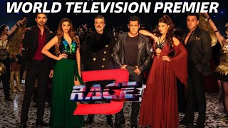 RACE 3 | World Television Premier | 26 Jan 2019 Sat 09:00 pm | Salman Khan