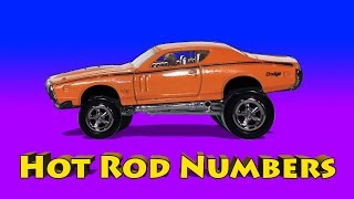 hot rod numbers count to ten muscle cars and custom cars