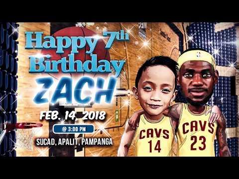 Zach's 7th Birthday Party