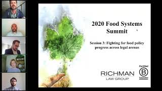 Session 3  Fighting for food policy progress across legal arenas