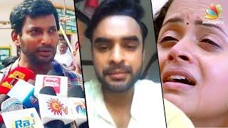 Severe action should be taken on Bhavana molesters - Vishal | Tovino Thomas