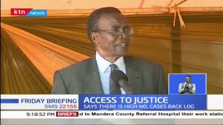 CJ MARAGA: JSC to hire 9 more judges