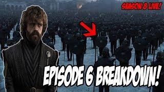 Game Of Thrones Season 8 Episode 6 LIVE Breakdown!