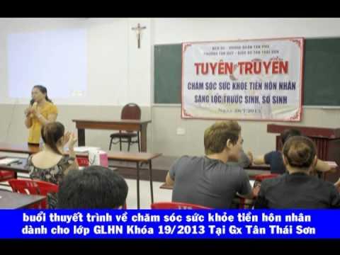 Gx TTS: Buổi Thuyết Trình Về Sức Khỏe Sinh Sản Tiền Hôn Nhân -BS Đỗ Thị Hòa.