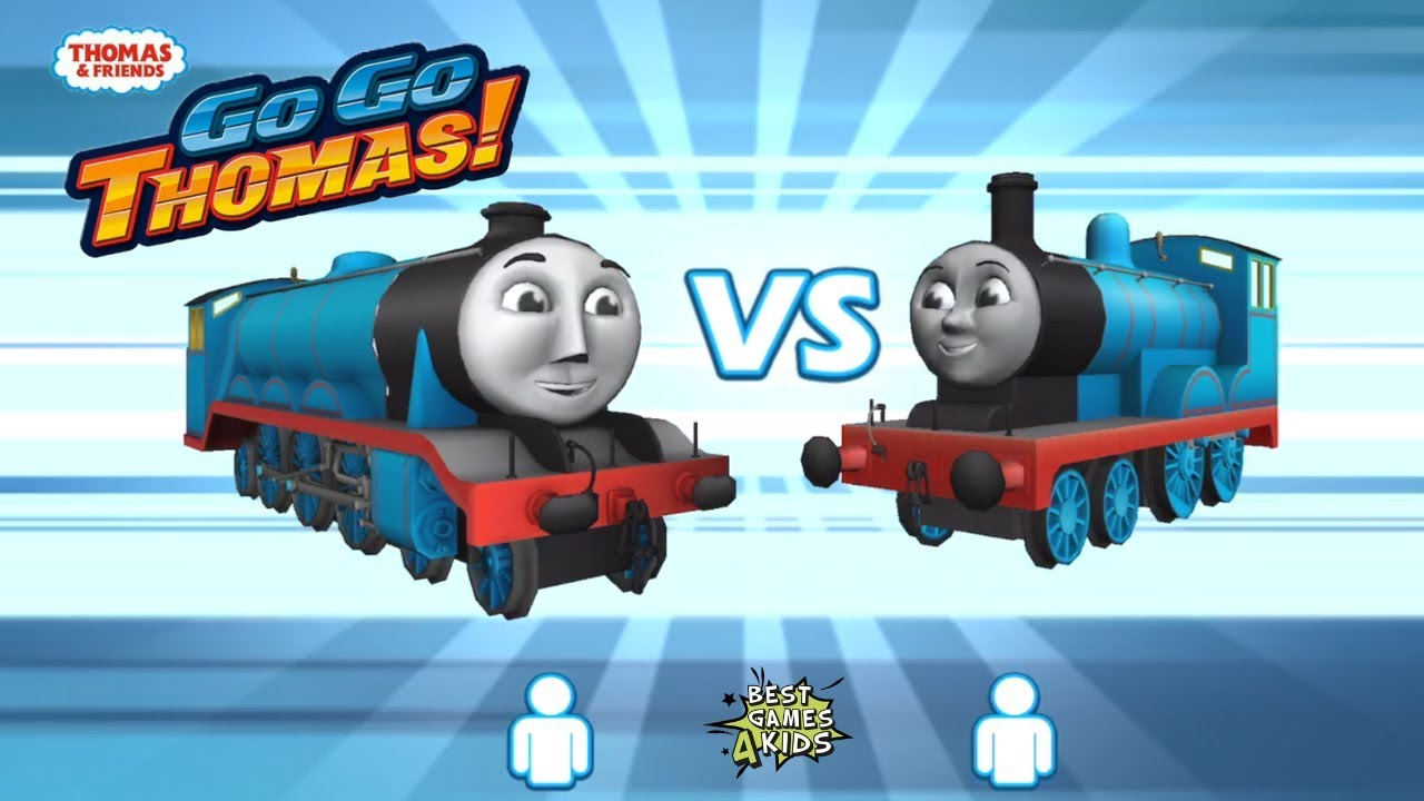 Thomas & Friends: Go Go Thomas | 2 PLAYERS BATTLE: GORDON Vs EDWARD! By Budge