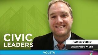 Interview – It Takes Heart [@CivicLeadersHQ] S1E2 – Mark Grabow, Hatfield Fellow; on VOLSTA