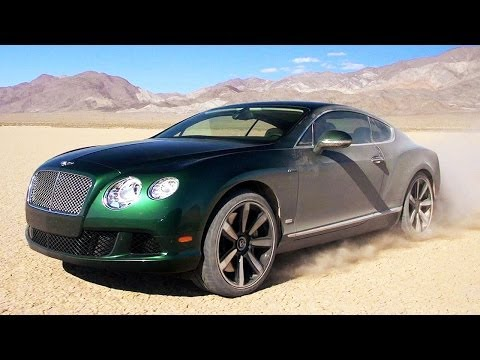 Area 51 to Reno Air Races! 2014 Bentley Continental GT Soars