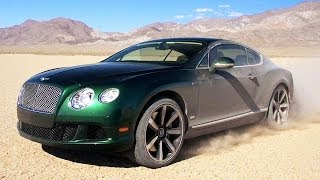 Area 51 to Reno Air Races! 2014 Bentley Continental GT Soars Through Nevada! Epic Drives Ep. 23