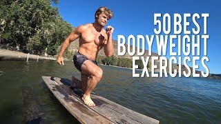 50 Best Bodyweight Exercises (All Muscles Hit, Perform Anywhere!)
