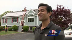 Mass. entrepreneur has way to make solar panels more attractive