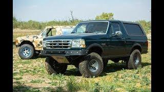 Ford Bronco Suspension Kit Comparison