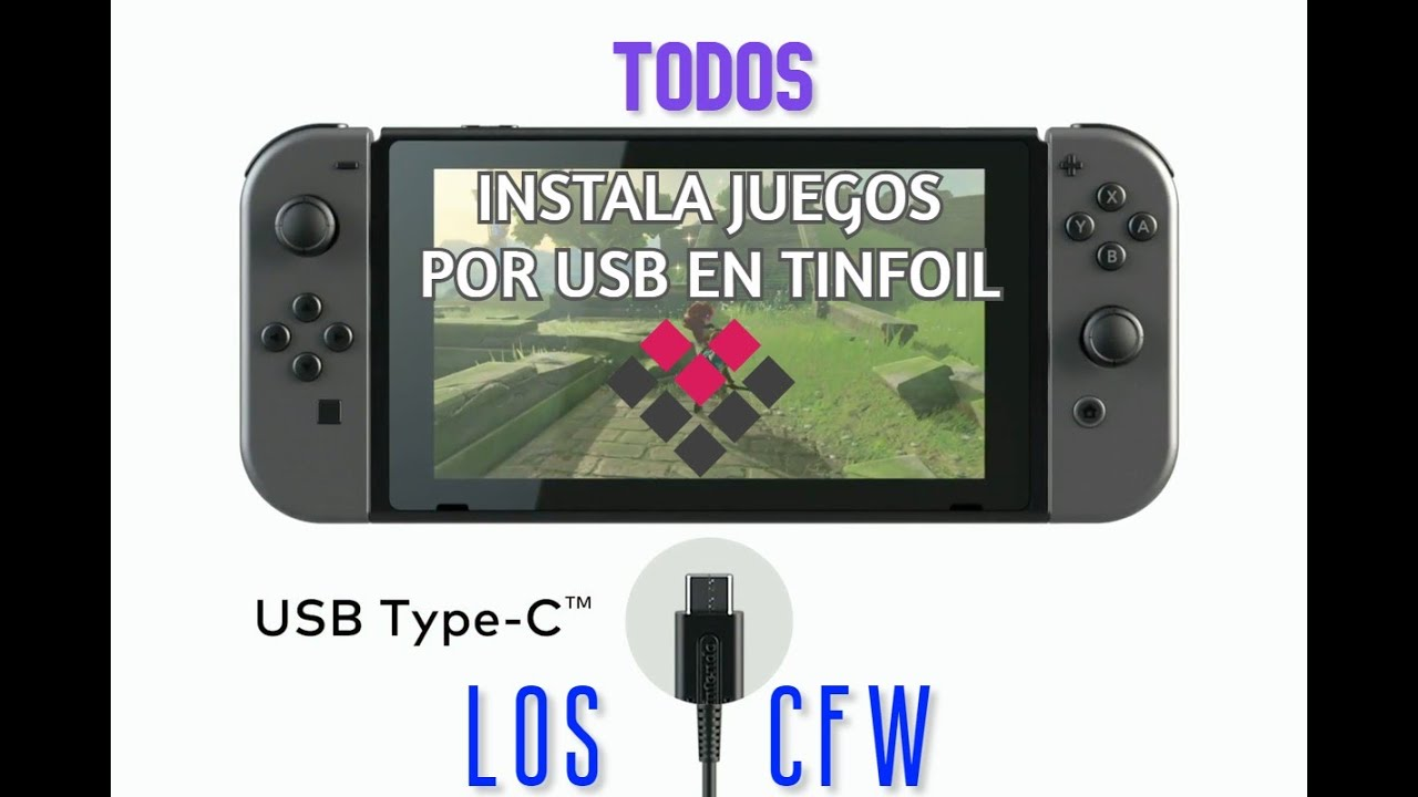 Instala juegos NSP desde USB en Tinfoil | Molina