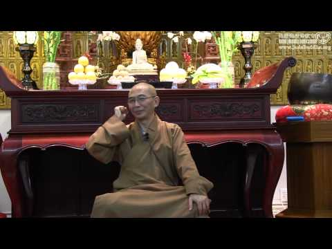 Ven. Hung I: Foundation of Learning Buddhism