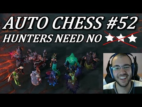 3 Star Hunters? Who Needs Those! | Dota Auto Chess Gameplay Commentary 52