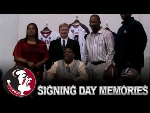 Heisman Trophy Winner Jameis Winston Signs With FSU in 2012 | ACC Hidden Gem