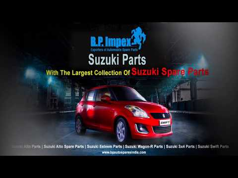 BP Auto Spares India Offers A Large Ready Stock Of Suzuki Spare Parts