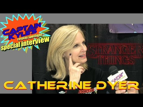 Catherine Dyer (Stranger Things) - Captain Kyle Special Interview