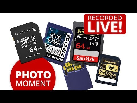 What V60/V90 SD Card do you need for GH5 400 Mbit All-Intra Recording?