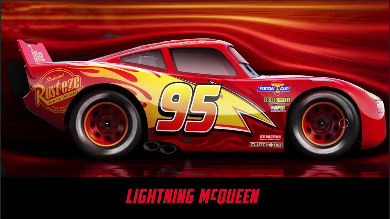 cars 3 coloring pages for kids lightning mcqueen jackson storm and cruz ramirez youtube