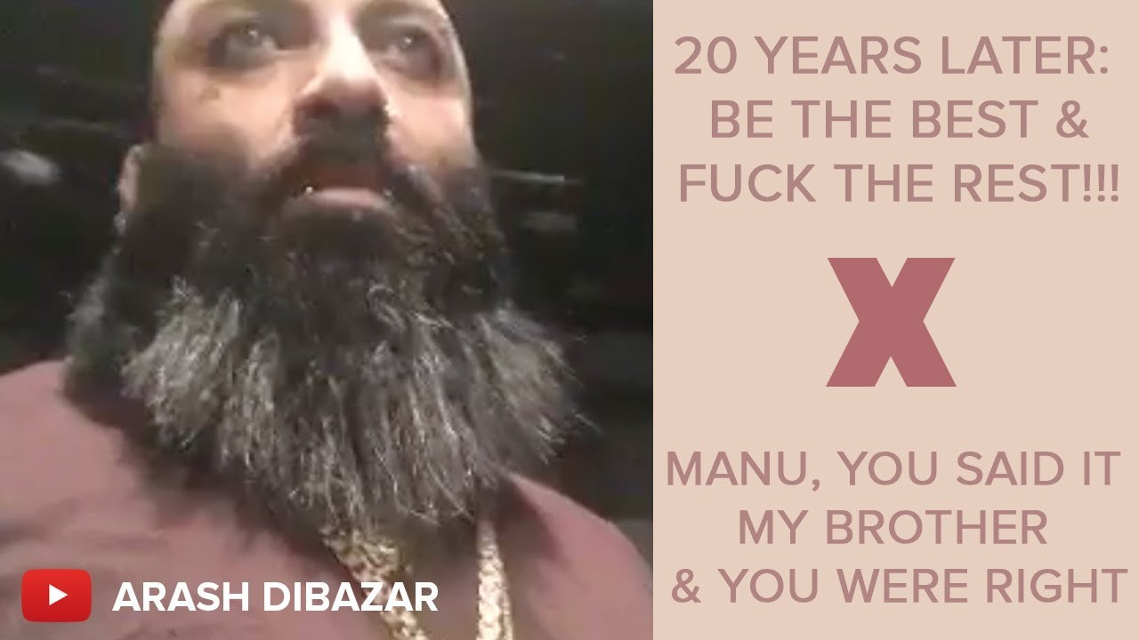 20 years later be the best and fuck the rest!!! manu you said it