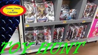 Avengers Endgame Toys Released / Walmart Toy Hunt / Thanos, Hulk, Iron Man, Captain America