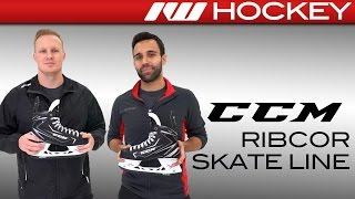CCM RibCor 70K On-Ice Skate Insight