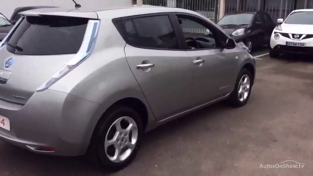 nissan leaf acenta aluminium silver 2014 youtube. Black Bedroom Furniture Sets. Home Design Ideas
