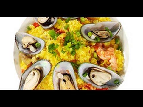 Плов с кальмарами - рецепт с фото на