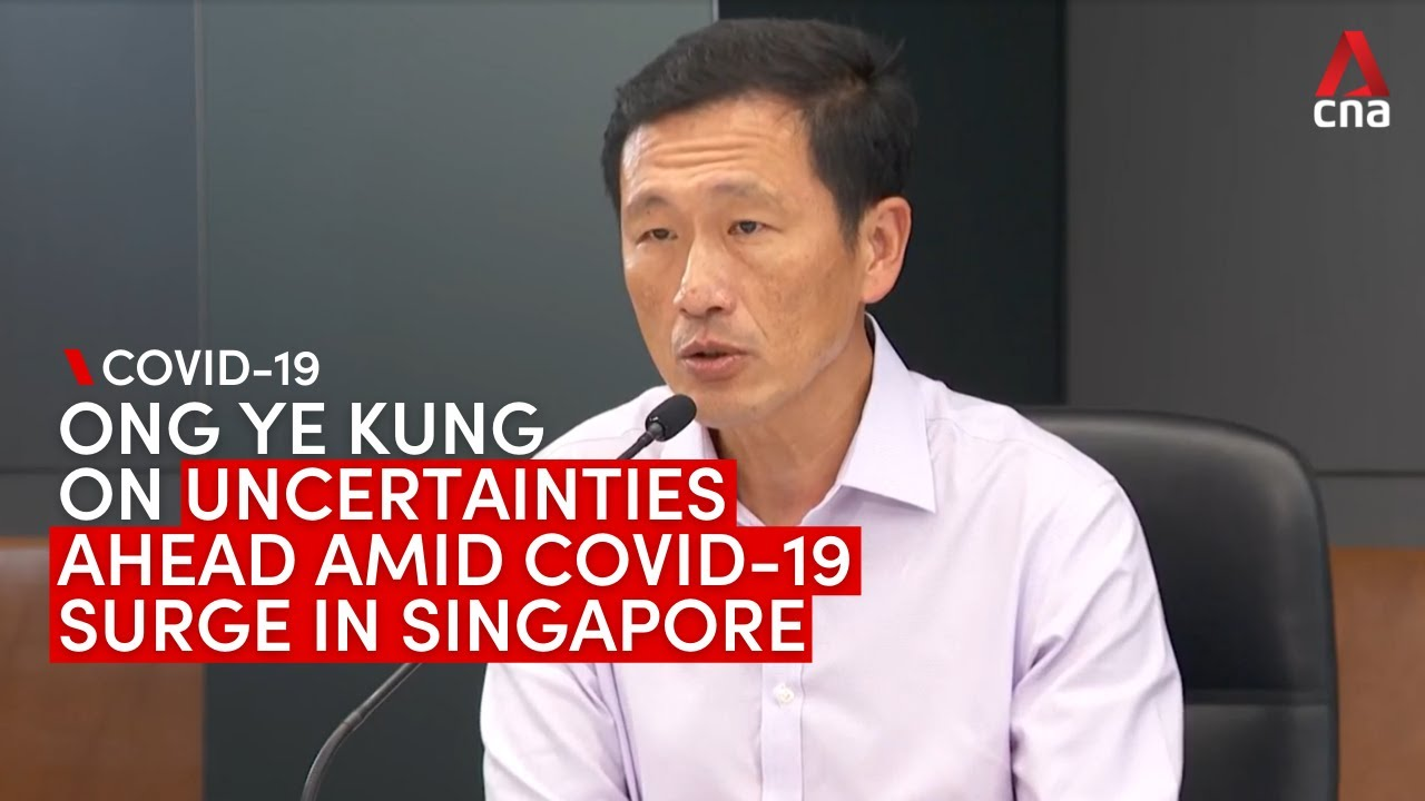 COVID19 Reduce social interactions and activities Ong Ye Kung says to Singaporeans