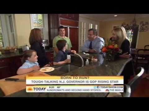 """""""Governor Christie Today Show Profile"""""""
