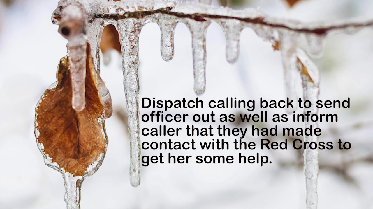 Call to 911 During This Week's Ice Storm