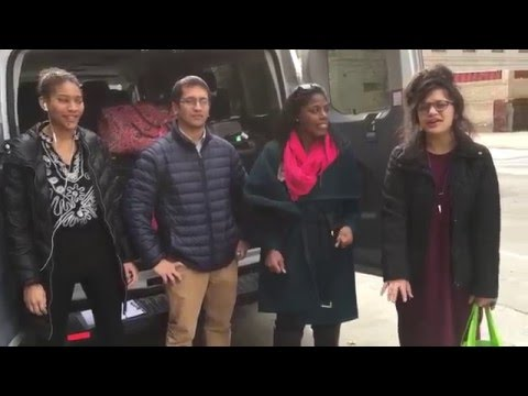 On the Road: a Real News Team Leaves for New Hampshire