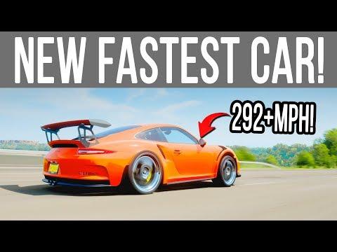 Forza Horizon 4 - NEW FASTEST CAR! PORSCHE GT3 RS 292+MPH (w/Tune) thumbnail
