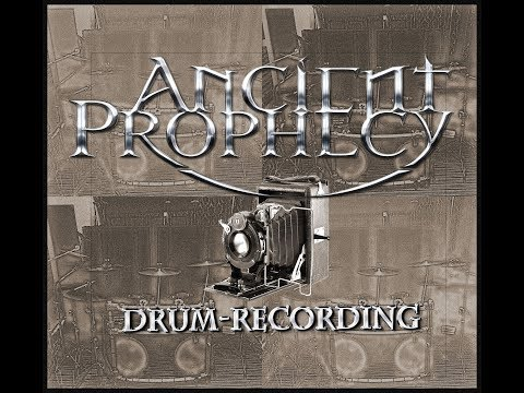 Ancient Prophecy - Drum Recording Photo Collage