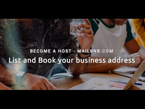 Mailbnb - list, discover and book business addresses.