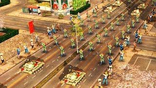Chinese Military Parade Ambushed, Nuclear Attack Confirmed | Command & Conquer Generals Gameplay