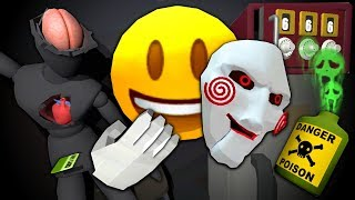 THE EMOJI'S TERROR BASEMENT - The Puzzle Room (VR)